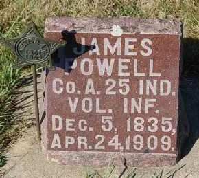 POWELL, JAMES - Minnehaha County, South Dakota | JAMES POWELL - South Dakota Gravestone Photos