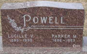 POWELL, PARKER M. - Minnehaha County, South Dakota   PARKER M. POWELL - South Dakota Gravestone Photos