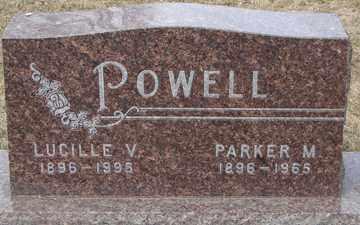 POWELL, LUCILLE V. - Minnehaha County, South Dakota | LUCILLE V. POWELL - South Dakota Gravestone Photos