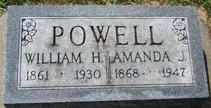 POWELL, AMANDA J. - Minnehaha County, South Dakota | AMANDA J. POWELL - South Dakota Gravestone Photos