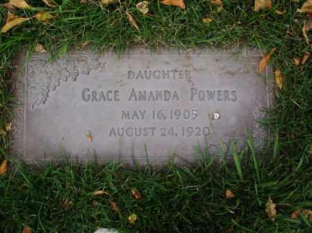 POWERS, GRACE AMANDA - Minnehaha County, South Dakota | GRACE AMANDA POWERS - South Dakota Gravestone Photos