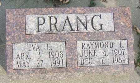 PRANG, EVA L. - Minnehaha County, South Dakota | EVA L. PRANG - South Dakota Gravestone Photos