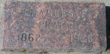 PRATT, CHARLES F. - Minnehaha County, South Dakota | CHARLES F. PRATT - South Dakota Gravestone Photos