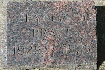 PRATT, PHYLLIS J. - Minnehaha County, South Dakota | PHYLLIS J. PRATT - South Dakota Gravestone Photos