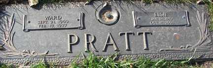 PRATT, WARD - Minnehaha County, South Dakota | WARD PRATT - South Dakota Gravestone Photos
