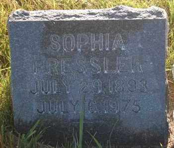 PRESSLER, SOPHIA - Minnehaha County, South Dakota | SOPHIA PRESSLER - South Dakota Gravestone Photos