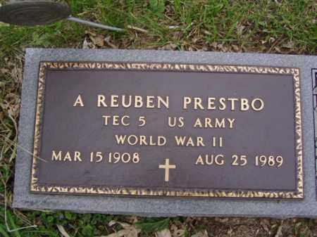 PRESTBO, A. REUBEN - Minnehaha County, South Dakota | A. REUBEN PRESTBO - South Dakota Gravestone Photos