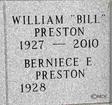 PRESTON, WILLIAM - Minnehaha County, South Dakota | WILLIAM PRESTON - South Dakota Gravestone Photos