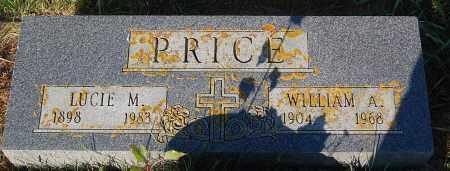 PRICE, LUCIE M. - Minnehaha County, South Dakota | LUCIE M. PRICE - South Dakota Gravestone Photos
