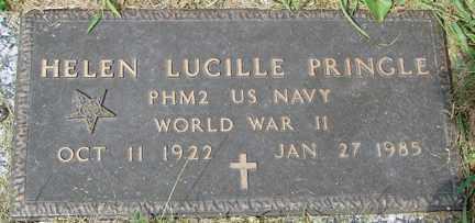 PRINGLE, HELEN LUCILLE - Minnehaha County, South Dakota | HELEN LUCILLE PRINGLE - South Dakota Gravestone Photos
