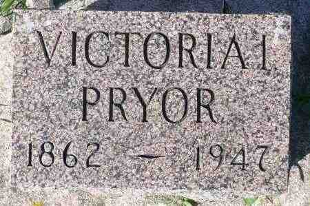 PRYOR, VICTORIA I. - Minnehaha County, South Dakota | VICTORIA I. PRYOR - South Dakota Gravestone Photos