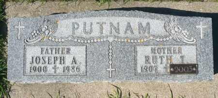 PUTNAM, RUTH T. - Minnehaha County, South Dakota | RUTH T. PUTNAM - South Dakota Gravestone Photos