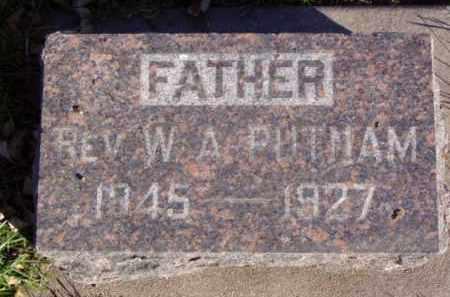 PUTNAM, W.A. REV. - Minnehaha County, South Dakota | W.A. REV. PUTNAM - South Dakota Gravestone Photos