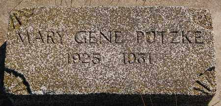 PUTZKE, MARY GENE - Minnehaha County, South Dakota   MARY GENE PUTZKE - South Dakota Gravestone Photos