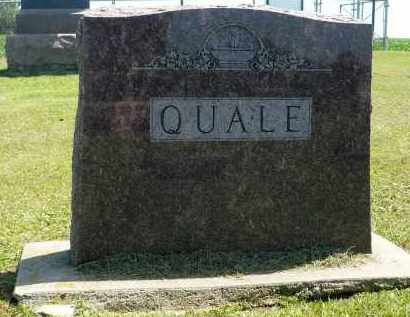 QUALE, FAMILY MARKER - Minnehaha County, South Dakota | FAMILY MARKER QUALE - South Dakota Gravestone Photos