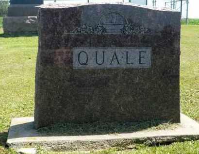 QUALE, FAMILY MARKER - Minnehaha County, South Dakota   FAMILY MARKER QUALE - South Dakota Gravestone Photos