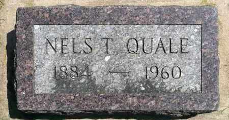 QUALE, NELS T. - Minnehaha County, South Dakota | NELS T. QUALE - South Dakota Gravestone Photos