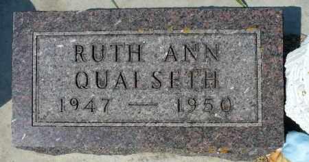 QUALSETH, RUTH ANN - Minnehaha County, South Dakota | RUTH ANN QUALSETH - South Dakota Gravestone Photos