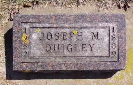 QUIGLEY, JOSEPH M. - Minnehaha County, South Dakota | JOSEPH M. QUIGLEY - South Dakota Gravestone Photos