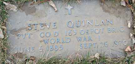 QUINLAN, STEVE - Minnehaha County, South Dakota | STEVE QUINLAN - South Dakota Gravestone Photos