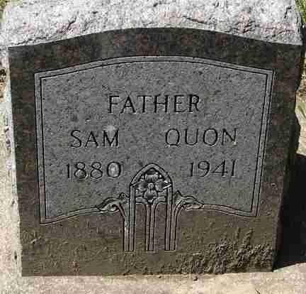 QUON, SAM - Minnehaha County, South Dakota | SAM QUON - South Dakota Gravestone Photos