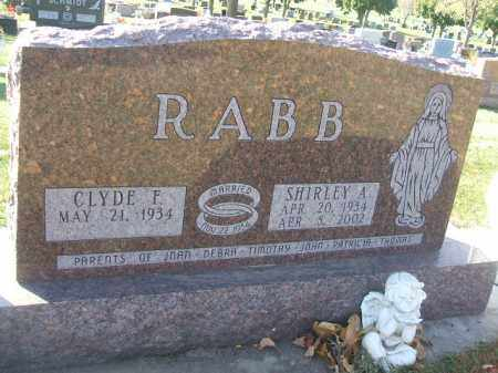 RABB, SHIRLEY A. - Minnehaha County, South Dakota | SHIRLEY A. RABB - South Dakota Gravestone Photos