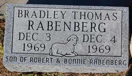 RABENBERG, BRADLEY THOMAS - Minnehaha County, South Dakota | BRADLEY THOMAS RABENBERG - South Dakota Gravestone Photos