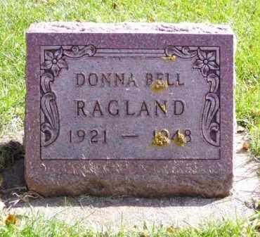RAGLAND, DONNA BELL - Minnehaha County, South Dakota   DONNA BELL RAGLAND - South Dakota Gravestone Photos