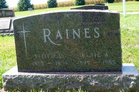 RAINES, FLOYD LEROY - Minnehaha County, South Dakota | FLOYD LEROY RAINES - South Dakota Gravestone Photos
