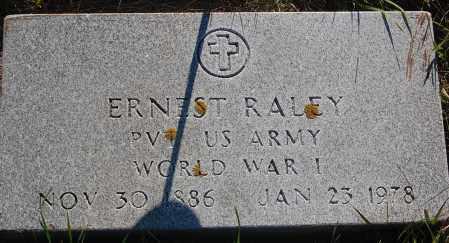 RALEY, ERNEST (WW I) - Minnehaha County, South Dakota | ERNEST (WW I) RALEY - South Dakota Gravestone Photos