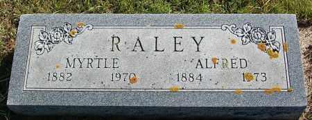 RALEY, ALFRED - Minnehaha County, South Dakota | ALFRED RALEY - South Dakota Gravestone Photos