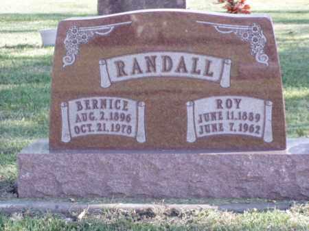 RANDALL, ROY - Minnehaha County, South Dakota | ROY RANDALL - South Dakota Gravestone Photos