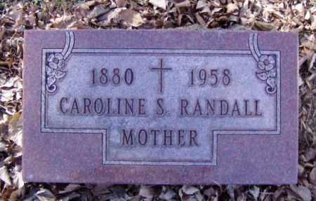 RANDALL, CAROLINE S. - Minnehaha County, South Dakota | CAROLINE S. RANDALL - South Dakota Gravestone Photos