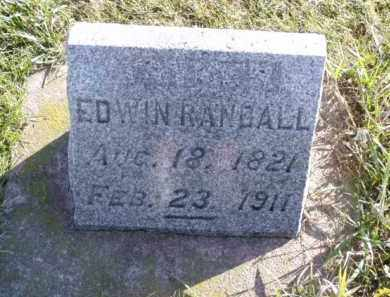 RANDALL, EDWIN - Minnehaha County, South Dakota | EDWIN RANDALL - South Dakota Gravestone Photos