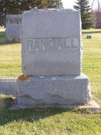 RANDALL, FRANK - Minnehaha County, South Dakota | FRANK RANDALL - South Dakota Gravestone Photos