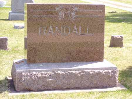 RANDALL, EMERSON W. - Minnehaha County, South Dakota | EMERSON W. RANDALL - South Dakota Gravestone Photos