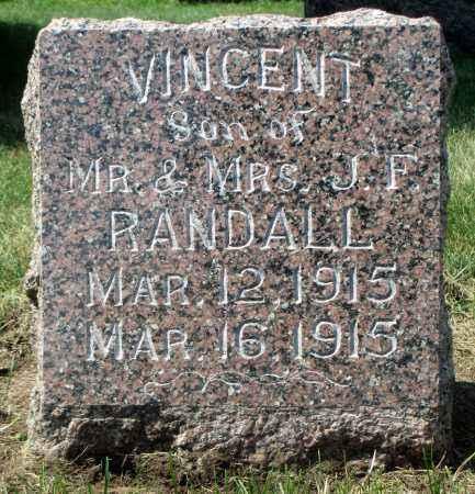RANDALL, VINCENT - Minnehaha County, South Dakota   VINCENT RANDALL - South Dakota Gravestone Photos