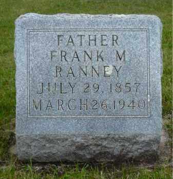 RANNEY, FRANK M. - Minnehaha County, South Dakota | FRANK M. RANNEY - South Dakota Gravestone Photos