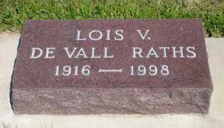 RATH, LOIS V. - Minnehaha County, South Dakota | LOIS V. RATH - South Dakota Gravestone Photos