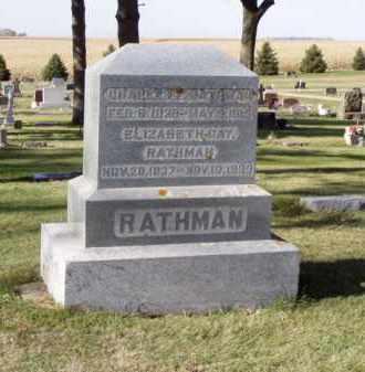 RATHAM, ELIZABETH - Minnehaha County, South Dakota | ELIZABETH RATHAM - South Dakota Gravestone Photos