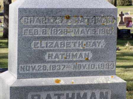 GAY RATHAM, ELIZABETH - Minnehaha County, South Dakota | ELIZABETH GAY RATHAM - South Dakota Gravestone Photos
