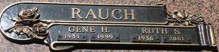 CHILSON RAUCH, RUTH SUSIN - Minnehaha County, South Dakota | RUTH SUSIN CHILSON RAUCH - South Dakota Gravestone Photos