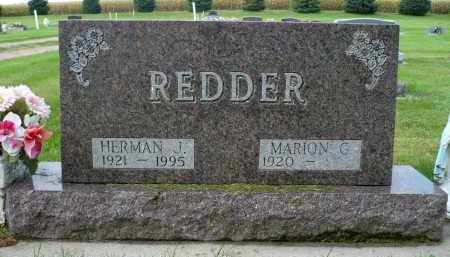 REDDER, HERMAN J. - Minnehaha County, South Dakota | HERMAN J. REDDER - South Dakota Gravestone Photos