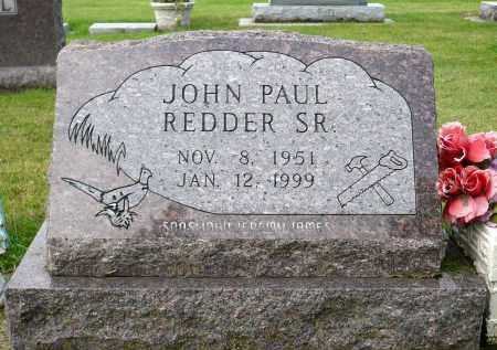REDDER, JOHN PAUL SR. - Minnehaha County, South Dakota | JOHN PAUL SR. REDDER - South Dakota Gravestone Photos
