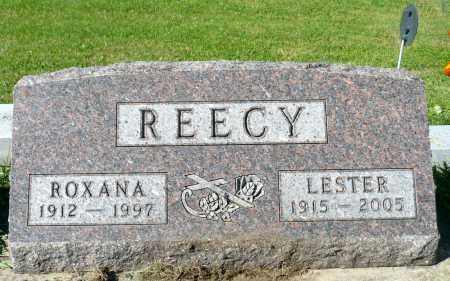 REECY, LESTER - Minnehaha County, South Dakota   LESTER REECY - South Dakota Gravestone Photos