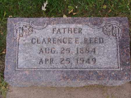 REED, CLARENCE E. - Minnehaha County, South Dakota | CLARENCE E. REED - South Dakota Gravestone Photos