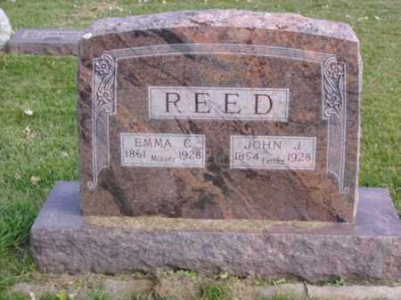 REED, EMMA C. - Minnehaha County, South Dakota | EMMA C. REED - South Dakota Gravestone Photos