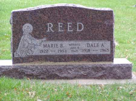 REED, DALE A. - Minnehaha County, South Dakota | DALE A. REED - South Dakota Gravestone Photos