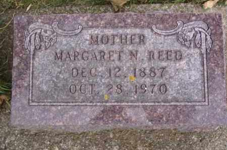 REED, MARGARET N. - Minnehaha County, South Dakota | MARGARET N. REED - South Dakota Gravestone Photos