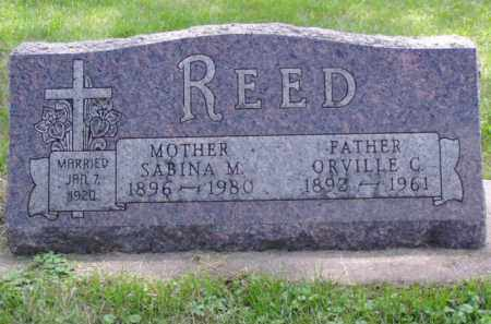 REED, SABINA M. - Minnehaha County, South Dakota | SABINA M. REED - South Dakota Gravestone Photos
